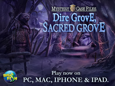 Mystery Case Files: Dire Grove, Sacred Grove, the 10th installment in the Mystery Case Files® series, is available today for PC and Mac, and releasing on Thursday, November 27th on smartphones and tablets. The Mystery Case Files series is Big Fish's most popular hidden object adventure game franchise, with over 53 million downloads across all platforms. This adventure series tasks players with finding hidden objects that they can use later in the game to continue the story and solve the game's numerous...