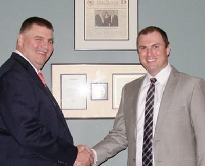 Johnathan M. Garlow receives Herman Buck award