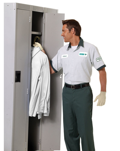 CERTIFIED SERVICING -- All UniFirst personnel delivering workwear to food industry businesses complete ...