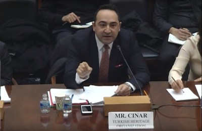 THO Executive Vice President ; Ali Cinar testifying