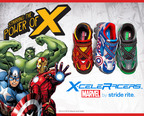 Kids Can Be Super with X-celeRacers(TM) Shoes by Stride Rite(R) Marvel Collection.  (PRNewsFoto/Stride Rite Children's Group)