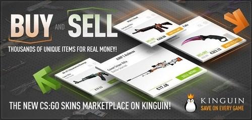 CS:GO Skins Kinguin (PRNewsFoto/Kinguin)