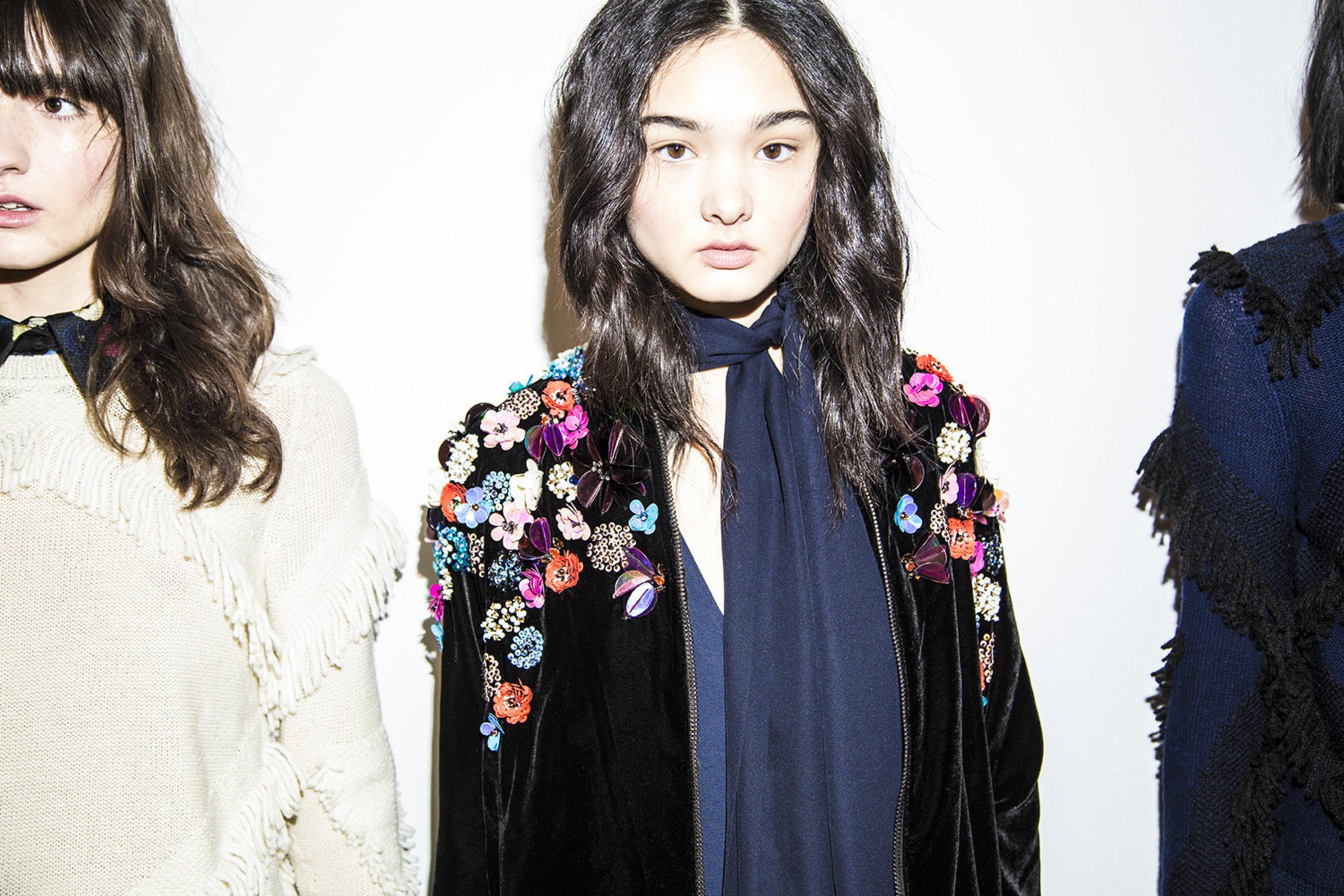Over Half A Million Swarovski Crystals Hit The Runway During New York Fashion Week