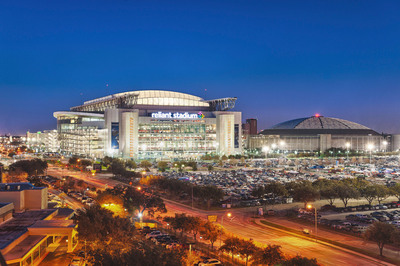 Reliant Stadium has just completed installation of a state-of-the-art AstroTurf playing surface.  (PRNewsFoto/AstroTurf)