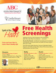 Spirit of the Heart Tour Brings Community Forums and Free Heart Health Screenings to Texas.  (PRNewsFoto/Association of Black Cardiologists, Inc. and American College of Cardiology)