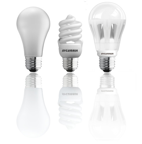 While a large majority still uses incandescent bulbs, 60 percent plan to switch to halogen, compact fluorescent  ...