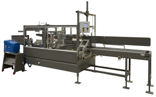 Pearson Packaging Systems new 50 Cases Per Minute Case Erector - CE50-G optimizes floor space and output with ...