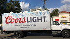 Rocky Mountain topped Coors Light 3D Truck Ad by TSN Advertising