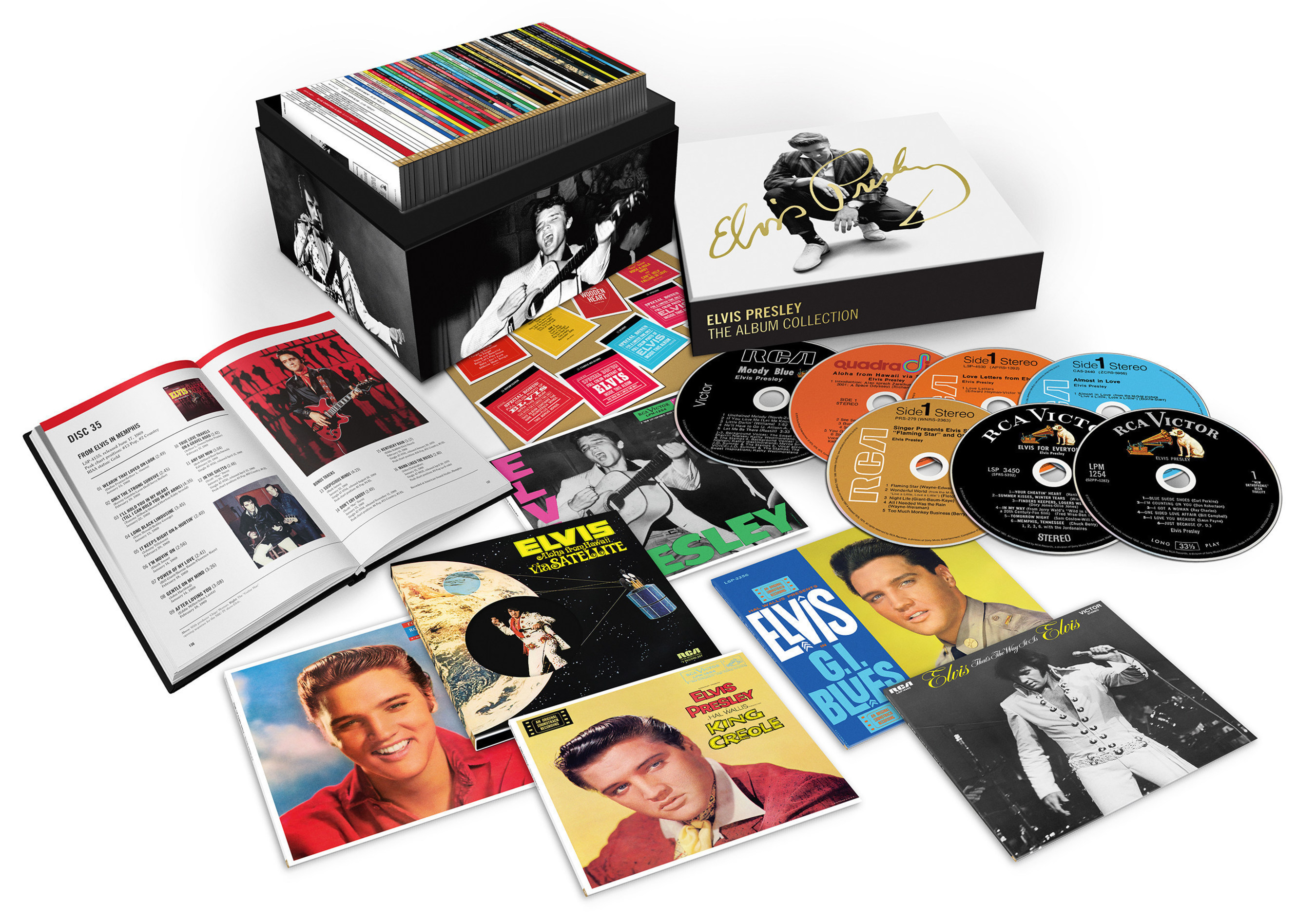 RCA/Legacy Recordings Set to Release ELVIS PRESLEY - THE ALBUM COLLECTION, the Definitive 60CD Deluxe LIMITED EDITION Box Set, on Friday, March 18, 2016