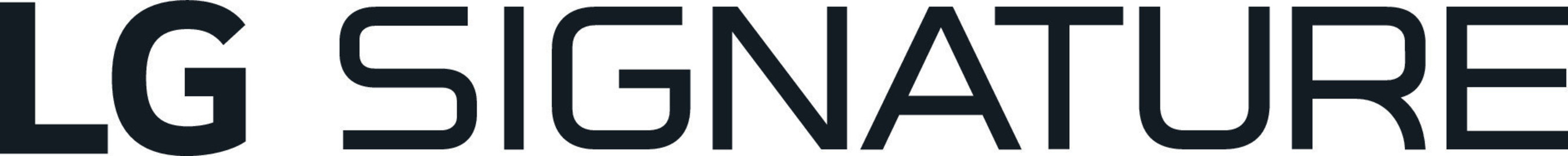 LG Signature Series Logo
