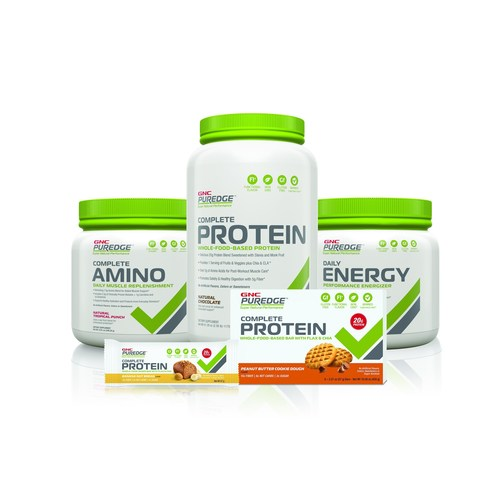 GNC PUREDGE(TM) sets the new standard for whole-food-based sports nutrition products.
