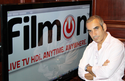 Alki David, CEO of FilmOn.com. (PRNewsFoto/FilmOn.com Inc.)