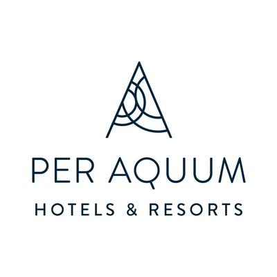 PER AQUUM logo (PRNewsFoto/Per Aquum Hotels & Resorts)