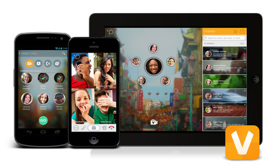 ooVoo Video Chat Experience.  (PRNewsFoto/ooVoo, LLC)