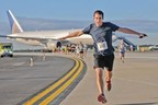 The Washington Dulles Airport Marriott will sponsor the upcoming Dulles Day 5K on the Runway planned for Sept. 20, 2014, on the runway of the transportation hub. The hotel will offer free night stays and food and beverage gift certificates for winners of the 5K and 10K. For information, visit www.Marriott.com/IADAP or call 1-703-471-9500. (PRNewsFoto/Washington Dulles Airport Marrio)