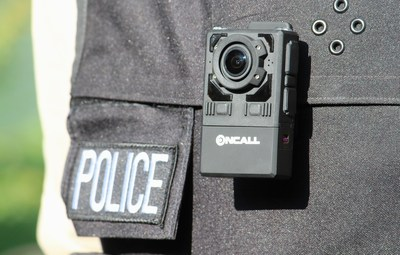 Oncall Police Cameras stream LIVE video, audio and GPS locations to the secure network server.