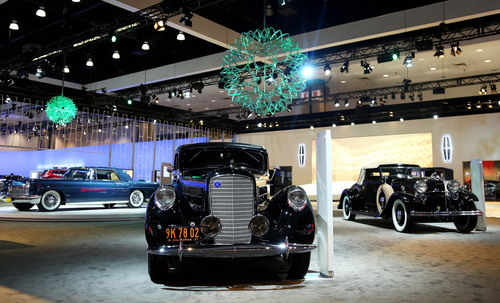 Lincoln at Los Angeles Auto Show Press Days: Celebration of Its Past and Future As Brand Rolls Out