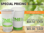 CupDepot Reduces Price on Karat® Earth Disposable Eco-Friendly Plastic & Paper Cups