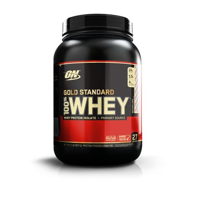 Category Leader Optimum Nutrition Commemorates Three Decades of Evolution and Innovation; Marks Occasion with Limited Edition Birthday Cake Flavor of Signature GOLD STANDARD 100% WHEY Product