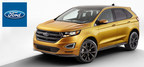 The 2015 Ford Edge is completely redesigned for the new model year, reaping the benefits of upgrades to the interior, exterior, and under the hood. (PRNewsFoto/Brandon Ford)