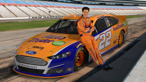 AutoTrader.com Races into New Hampshire as Primary Sponsor of Joey Logano and No. 22 Team Penske Ford Fusion (PRNewsFoto/AutoTrader.com)