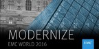 EMC World Day 2 - New EMC Technologies to Help Customers Modernize Their Business
