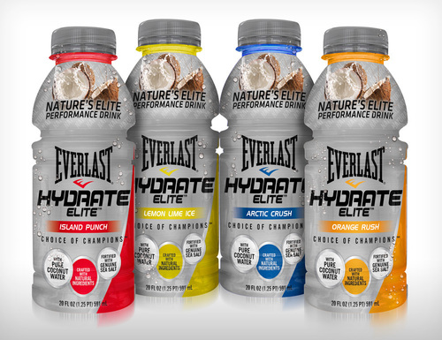Everlast launches Hydrate Elite performance drink (PRNewsFoto/Everlast Worldwide Inc.)