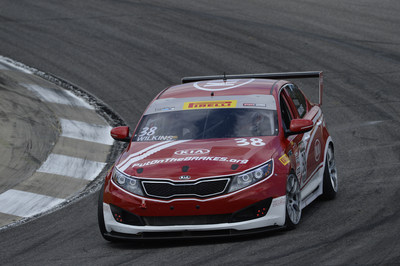 Kia Racing maintains championship points lead following top five finishes at Sonoma Raceway (PRNewsFoto/Kia Motors America)