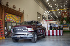 More than 25 Ram trucks will tow all the floats in the 89th Annual Macy's Thanksgiving Day Parade(R), Thursday, Nov. 26, in NYC. Ram is the Official Truck of the Macy's Thanksgiving Day Parade(R).
