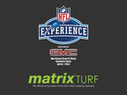 Matrix Turf will serve as the official turf provider of the Clinic Field Fueled by Gatorade at the 21st Annual NFL Experience Driven by GMC.  (PRNewsFoto/Hellas Sports Construction)