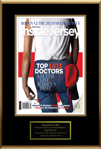 Dr. Donald Liss selected for list of New Jersey Top Doctors. (PRNewsFoto/American Registry) ...
