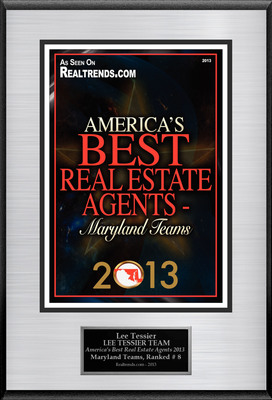 "Lee Tessier Of Keller Williams American Premier Realty Selected For ""America's Best Real Estate Agents 2013 - Maryland Teams"".  (PRNewsFoto/American Registry)"
