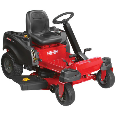 Wireless-enabled Craftsman Zero Turn Steerable Riding Mower: The Craftsman Zero Turn Steerable Riding Mowers are designed for ease of use, especially when mowing large yards with obstacles.