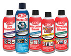 CRC releases new packaging for professional and DIY lubricants and penetrants: Power Lube(R) Multi-Purpose Lubricant, Heavy Duty Silicone, White Lithium Grease, Ultra Screwloose(R) Penetrating Oil and award-winning Freeze-Off(R) Super Penetrant.  (PRNewsFoto/CRC Industries)