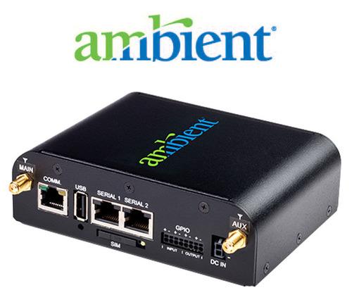 Ambient MicroNode.  (PRNewsFoto/Ambient Corporation)