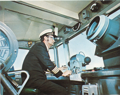 Captain Billy Ray Phillips - Cape May-Lewes Ferry, 1964. (PRNewsFoto/Cape May-Lewes Ferry)