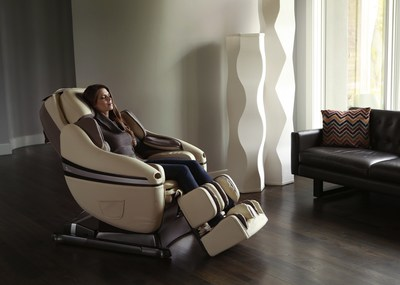 "Inada's upgraded DreamWave(TM) massage chair offers a transcendent, immersive massage experience unparalleled by any other massage chair. Its 16 pre-programmed sessions, including ""Deep Relaxation,"" take the total body massage experience to a new level. Every detail of the new DreamWave is painstakingly engineered to provide movements that precisely mirror the ancient art of shiatsu massage. It also includes Inada's proprietary DreamWave motion -- a sublime, rotational motion of the seat that relaxes the spine and hips. The new DreamWave massage chair demonstrates Inada's constant innovation and category leadership. Inada truly makes The World's Best Massage Chair. (PRNewsFoto/Inada USA)"