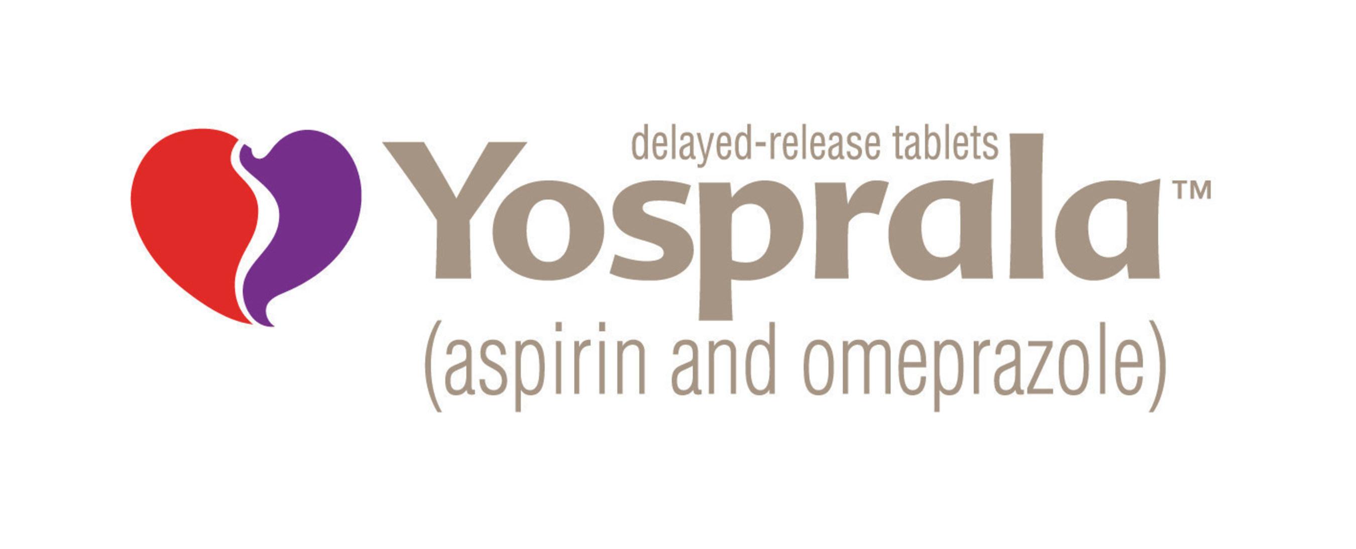 Aralez Announces FDA Approval Of YOSPRALA For Secondary Prevention