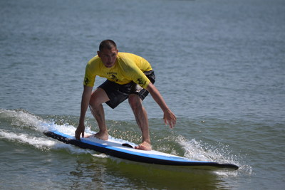 Injured service members participated in a variety of water sports at the 11th annual Rockaway Adaptive Water Sports Festival, hosted by Wounded Warrior Project.