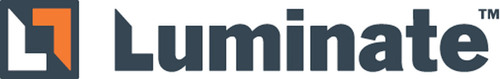 Luminate Logo.  (PRNewsFoto/Pixazza Inc. & Luminate, Inc.)
