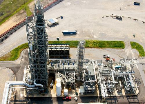CO2 capture demonstration plant, Mitsubishi Heavy Industries, Ltd. (PRNewsFoto/Mitsubishi Heavy Industries, Ltd.) (PRNewsFoto/MITSUBISHI HEAVY INDUSTRIES, LTD)