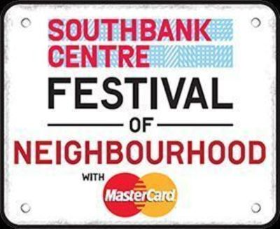 Artists from Raw Material, the Brixton-based music charity, will be performing at the Festival of Neighbourhood, London Southbank Centre, Clore Ballroom, on Saturday 13th July.