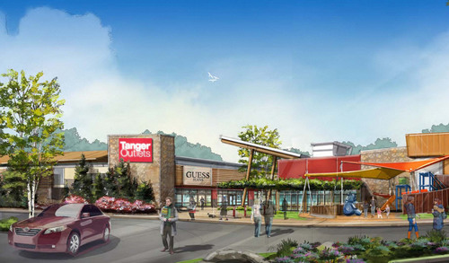 Tanger Outlet Centers Breaks Ground on Tanger Outlets Ottawa.  (PRNewsFoto/Tanger Factory Outlet Centers, Inc.)