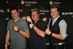 Rascal Flatts wearing watches from the RAYMOND WEIL Limited Edition Nabucco Collection