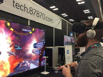 87870 Debuts World's First Multi-Player VR Games at SXSW 2016
