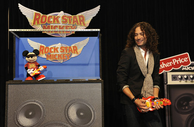 Constantine Maroulis Brings Down the House at D23 Expo with Rock Star Mickey from Fisher-Price® and Disney