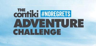 The Contiki #NOREGRETS Adventure Challenge.  (PRNewsFoto/Contiki Vacations)