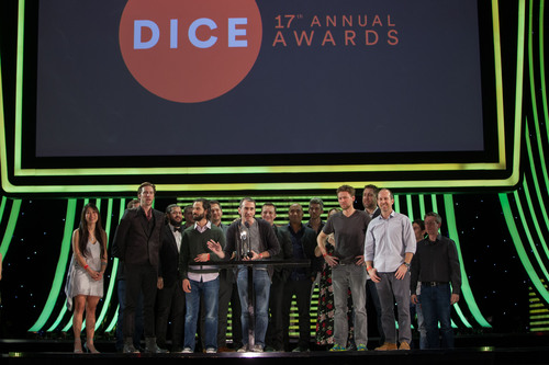 Naughty Dog sweeps 2014 D.I.C.E. Awards, including Game of the Year for The Last of Us.  (PRNewsFoto/Academy of Interactive Arts & Sciences)