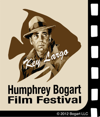 Humphrey Bogart Estate and Key Largo Chamber of Commerce Announce Creation of Humphrey Bogart Film Festival; Fans Can Help Select Movies at www.bogartfilmfestival.com.  (PRNewsFoto/Humphrey Bogart Film Festival)