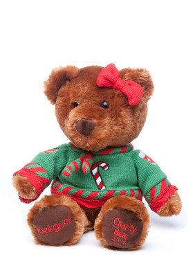 The first-ever Belkie Charity Bear, designed by a nine-year-old from North Carolina, was unveiled today at Belk's SantaFest. Photo provided by Belk.